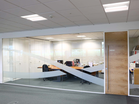bespoke office partitioning