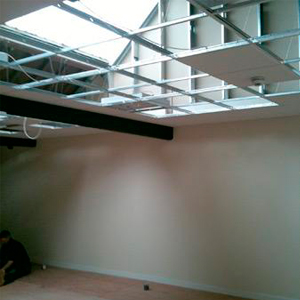suspended ceilings Jumbo partitioning