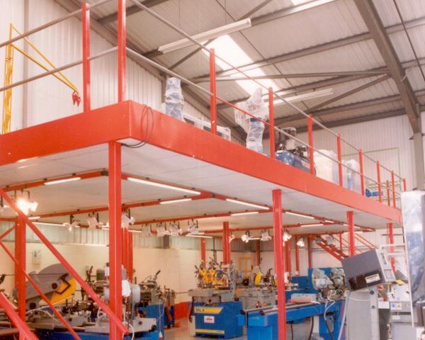 manufacturing mezzanine storage