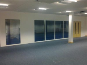 Partition wall office