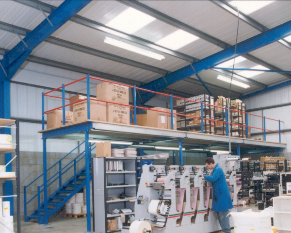 Warehouse Mezzanine Flooring